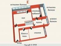 Двустаен апартамент, град София, Захарна Фабрика