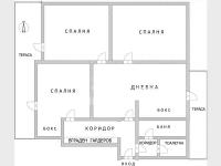 Многостаен апартамент, град Варна, Център