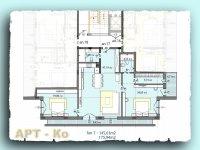 Тристаен апартамент, град Перник, кв x2C  Изток
